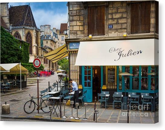 Europa Canvas Print - Chez Julien by Inge Johnsson