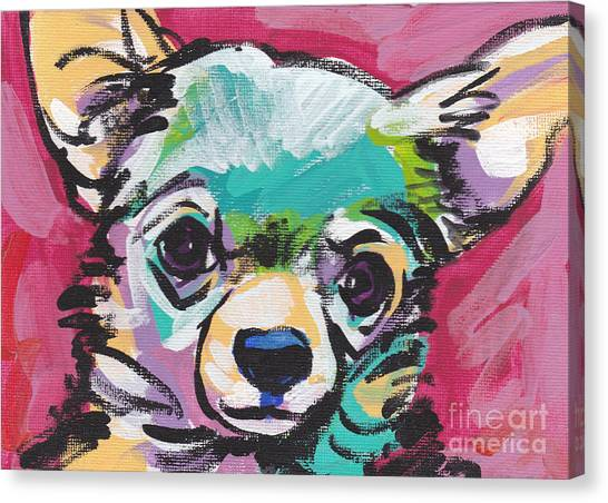 Chihuahuas Canvas Print - Chi Chi by Lea S