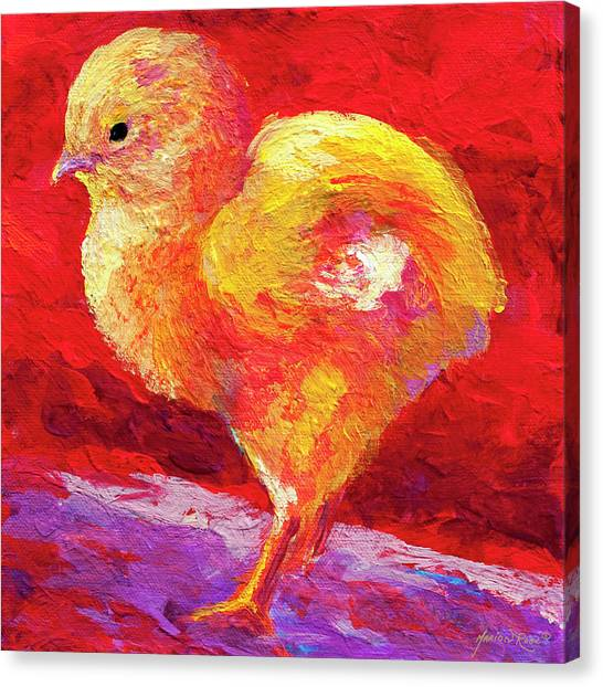 Easter Eggs Canvas Print - Chic Flic Iv by Marion Rose