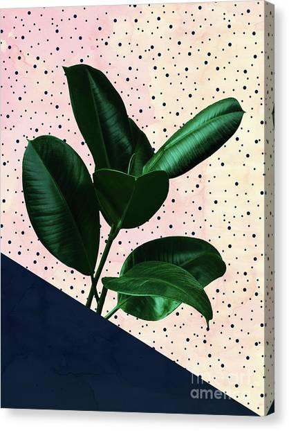 Chic Jungle Canvas Print