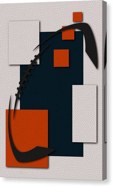 Chicago Bears Canvas Print - Chicago Bears Football Art by Joe Hamilton