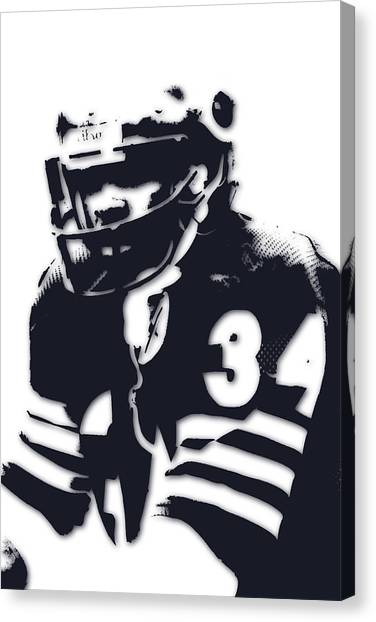 Walter Payton Canvas Print - Chicago Bears Walter Payton 2 by Joe Hamilton