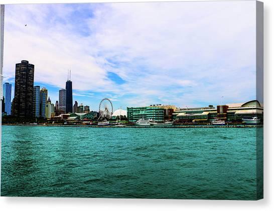Chicago Blue Canvas Print
