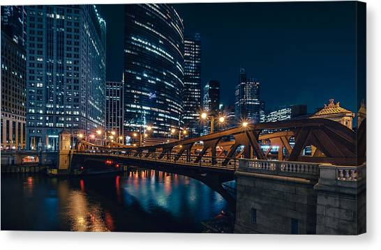 Chicago Blue II Canvas Print