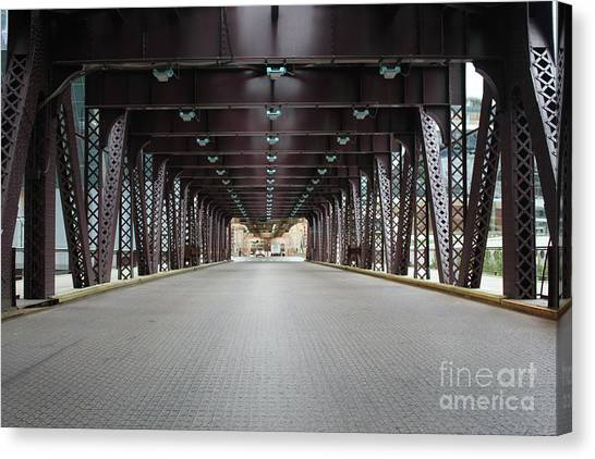 Chicago Bridges Canvas Print