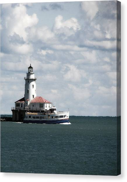 Chicago Lighthouse Canvas Print