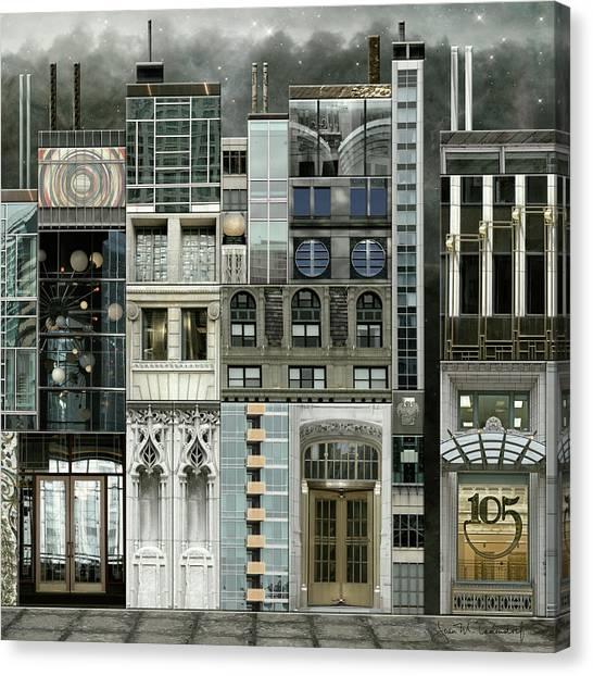 Chicago Reconstruction 1 Canvas Print