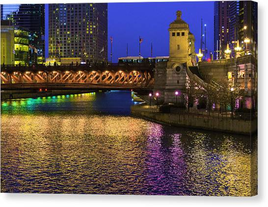 Chicago River Ver2 Canvas Print