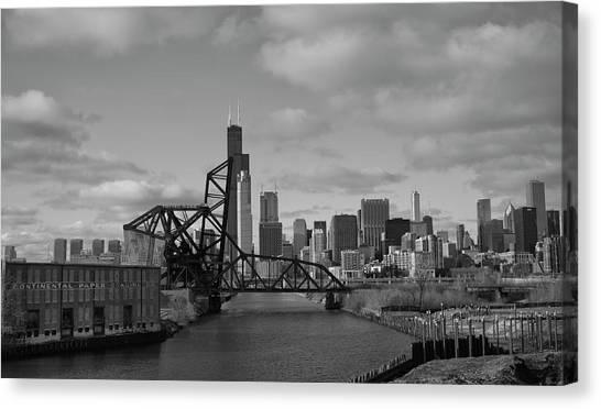 Chicago Skyline 2 Canvas Print