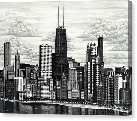 I Love Chicago Volume 1 Canvas Print