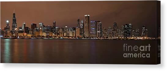 Chicago Skyline Panorama Canvas Print
