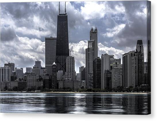 Chicago Skyline Ver3 Canvas Print