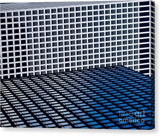 Tetris Canvas Print - Chicago Tetris by Debra Banks