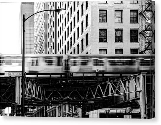 Chicago Transit Canvas Print