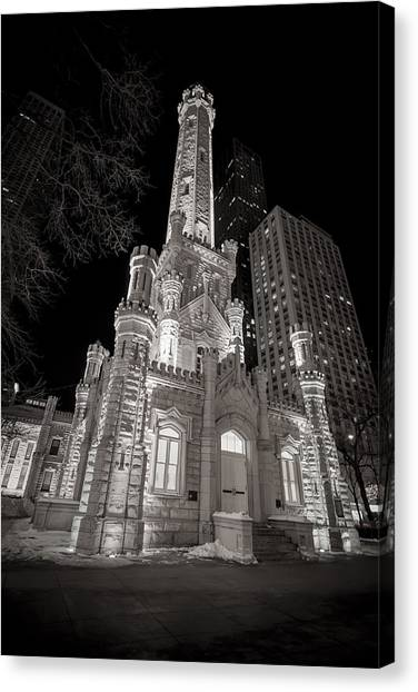 Chicago Water Tower Canvas Print