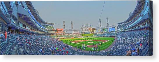Chicago White Sox Canvas Print - Chicago White Sox Field by David Bearden