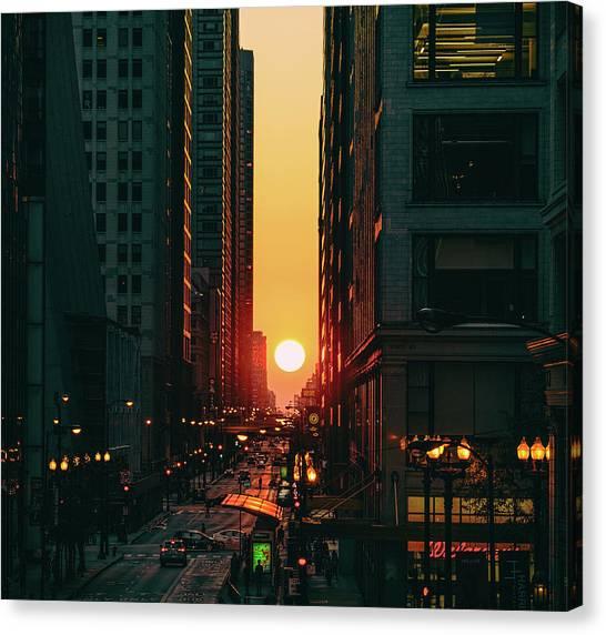 Chicagohenge Canvas Print
