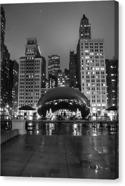 Chicago's Bean Canvas Print