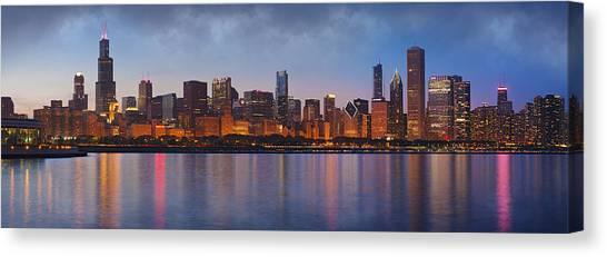 Chicago Skyline Canvas Print - Chicago's Beauty by Donald Schwartz