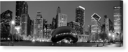 Cloudgate Canvas Print - Chicago's Cloud Gate Bean by Ryan Smith