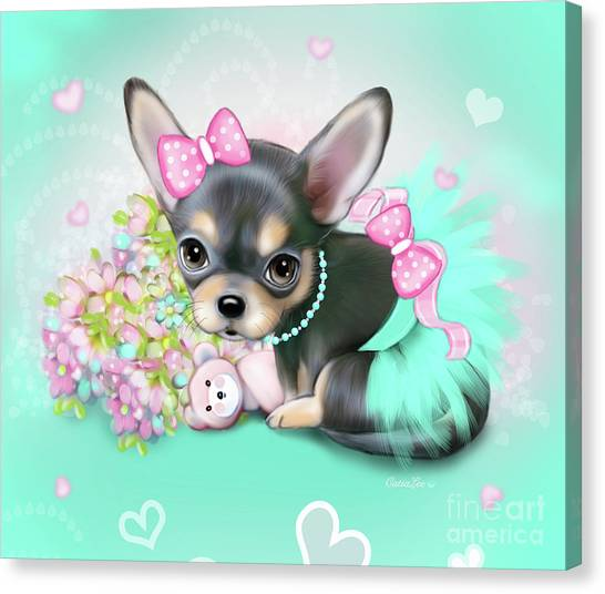 Chichi Sweetie Canvas Print