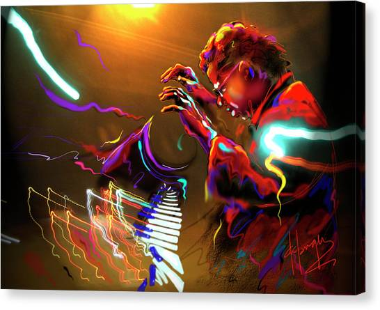 Chick Corea Canvas Print