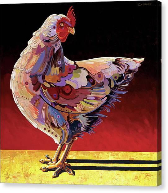 Chickenscape II Canvas Print