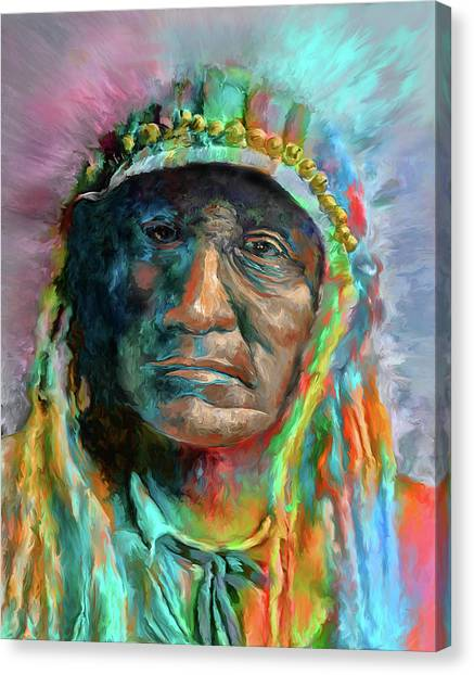 Chief 2 Canvas Print