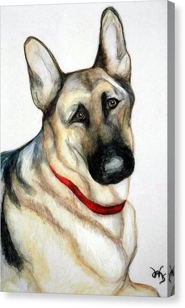 Chief Canvas Print by Debra Sandstrom