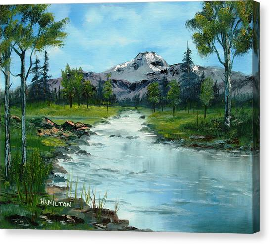 Chief Joseph Ranch Montana Canvas Print