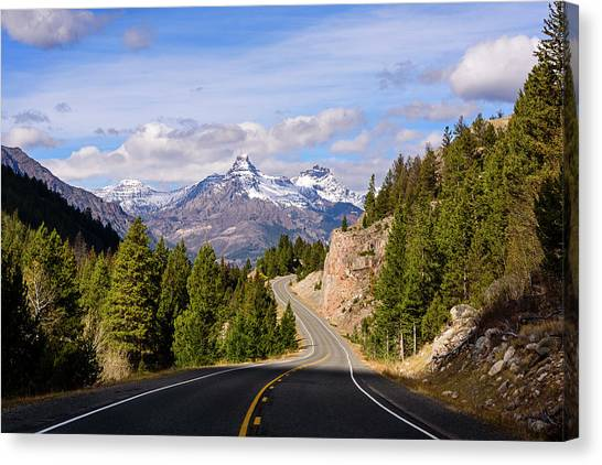 Chief Joseph Scenic Highway Canvas Print