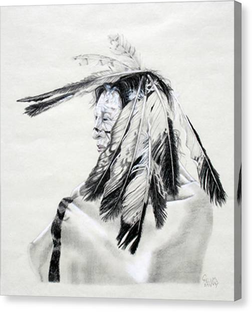 Chief Canvas Print