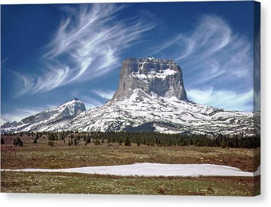 Chief Mountain Canvas Print