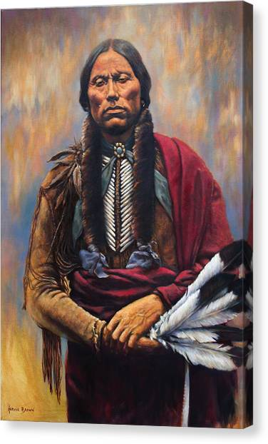 Chief Quanah Canvas Print