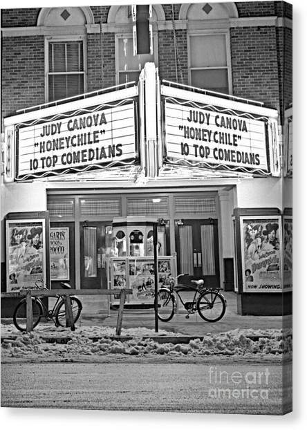 Chief Theater Canvas Print