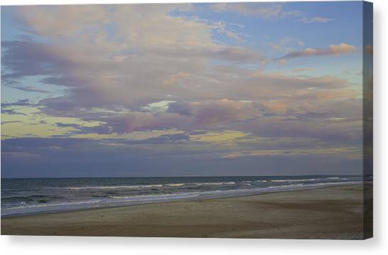 Chiffon Sunset Canvas Print