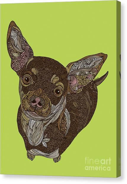 Chihuahuas Canvas Print - Chihuahua by Valentina