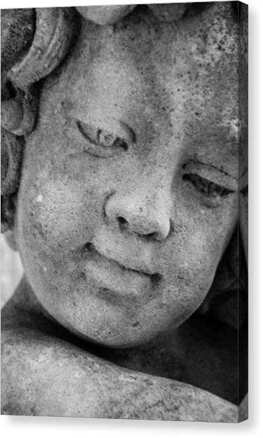 Child Gaze Canvas Print
