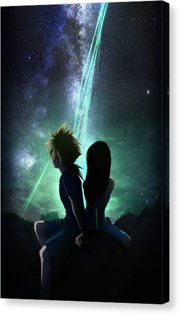 Final Fantasy Canvas Print - Childhood Promise by MCAshe