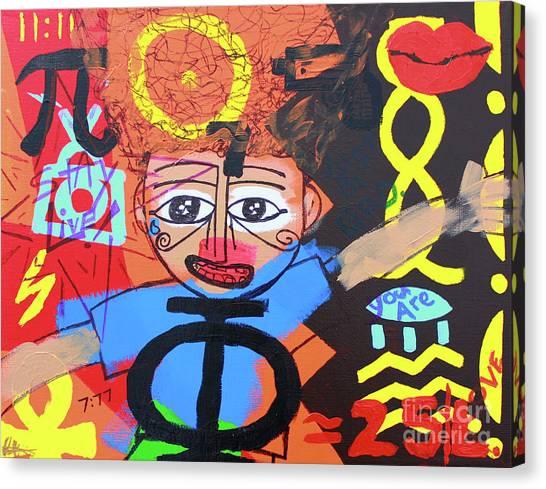 Children Of Ascension Canvas Print