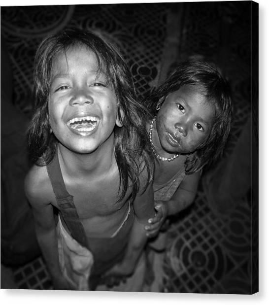 Children Of Phnom Penh Canvas Print