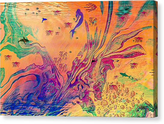 Childrens Imagination Canvas Print