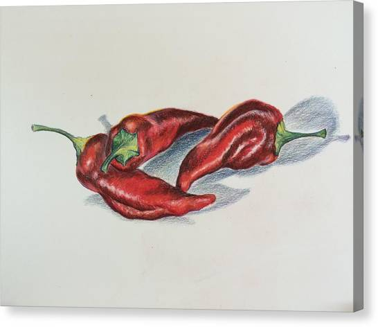 Chile Peppers Canvas Print