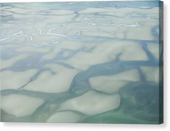 Chilkat River Patterns Canvas Print