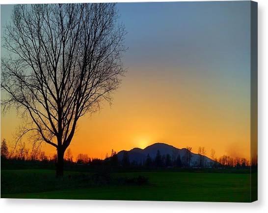 Chilliwack, British Columbia Canvas Print