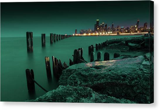 Chilly Chicago 2 Canvas Print