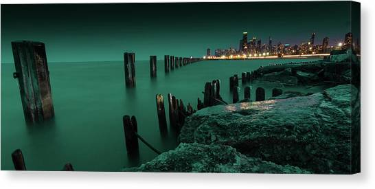 Chilly Chicago Canvas Print
