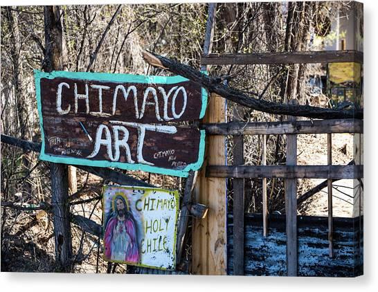 Chimayo Art Canvas Print