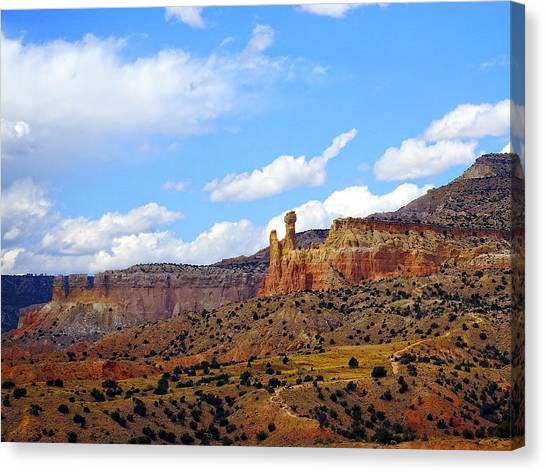 Chimney Rock Ghost Ranch New Mexico Canvas Print