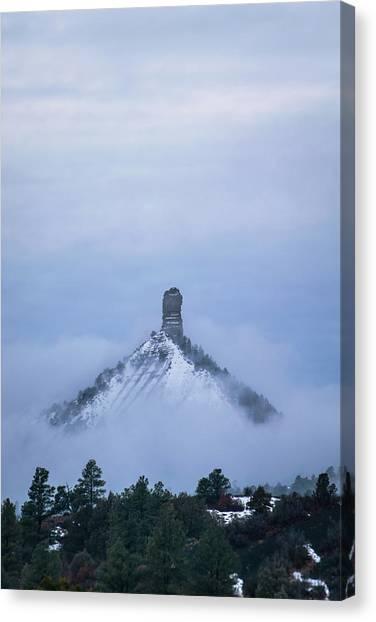 Chimney Rock Rising Canvas Print
